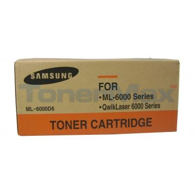 SAMSUNG ML6000 TONER CARTRIDGE BLACK